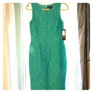 Ralph Lauren Dress 4 Turquoise NWT